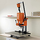 Blum's MINIPRESS M is a robust tool for use on site or in the workshop. MINIPRESS M requires neither compressed air nor a strong power supply. The machine can be operated from a regular room outlet...