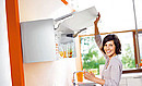 With AVENTOS HK, the front lifts up. It is especially well-suited for lift systems in wall cabinets where there are height restrictions, applications in tall cabinets and over the refrigerator. The...