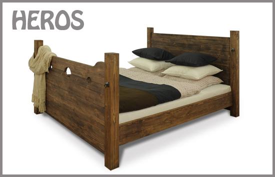 Rustikale Betten. Bett Heros von Seart | furniture.eu