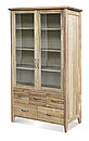 WINDSOR Bookcase with glazed door 5 drawers