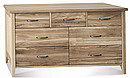 Made from: Oak Finishing: Oil or caramel/stain. Height: 725 mm Width: 1500 mm Depth: 450 mm CBM: 0.54
