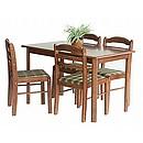 söögilaud ja 4 tooli Camel