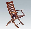 GUYANE FOLDING DECK CHAIR