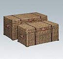 KIGOMA 2 RATTAN TRUNKS