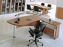 Executive office systems of FLAGMAN series will help you to open new page in the history of your office. Harmony of FLAGMAN furniture is achieved thanks to the optimal balance of metal and wooden...
