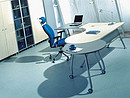 Office furniture of PLASMA series is a true breakthrough into the future. It will bring to your office ultra-modern trends, new system of space and time measuring and modern vision of business....