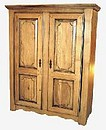 2 doors wardrobe Dimensions : 1600 x 2000 x 650 mm