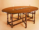 Double Gate-Leg Table