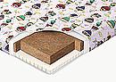 Элитный детский беспружинный асимметричный матрац на основе кокосового волокна и латекса. Эта эксклюзивная...