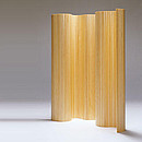 SCREEN 100 Designer: Alvar Aalto 1933-36 Pine, natural lacquered length 200 cm