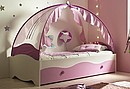 STELLA is every little girl's dream become reality: a bed fit for a princess or a fairy!