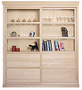 "Just launched is this spectacular ""tall cupboard"" and ""bookcase"" range of quality solid oak furniture cabinets which are designed for rooms where a narrow, but elegant cabinet, is required to..."