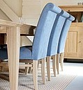 These chairs were my first chair design and are still the most classically popular. They provide fantastic day/night long comfort, suitable for use as a dining chair or kitchen chair. The fabric...