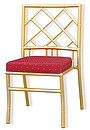 Stylish bamboo back celebration chair with extra comfort seat pad. Container 40 ft: 700 Container 20 ft: 350
