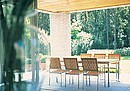 Nexus furniture ambodies a marriage of stainless steel and teak - two materials eminently suited to outdoor use. Brushed stainless steel is utilized for the legs and frames with striking, slatted...