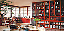 Designing living areas where books play a main role is something that we think about constantly. There are countless ways of setting up a library. For all of life's situations, the Original Paschen...