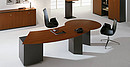 The Arco Management collection is distinguished by functional design and high quality. Fine veneer grants elegance and sovereignty. Due to the variety of desk tops and extension modules, the work...