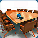 With the variety of conference tables available it is always possible to find a style and size to best suit your requirements. The large selection embraces squares, rectangles, boats, D-ends and...