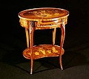 Louis xv style side table Mod. AMBULANTE