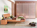 Feel the seduction of precious metals. The bronze glass fronts of Montreal wardrobes with sliding doors are simply stunning with a sparkling metallic effect and rippled look ? also available with...