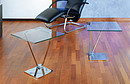 Occasional table. Top 50 x 50cm. Height 50 and 55cm.