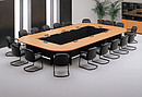 The ideal conference room arrangement can be created with CR2 series tables. The entire system is based on three tables. Different variations in combination of square, rectangular and round units can...