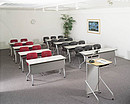 CRN3 is a mobile system of organization of the conference halls. This series assumes a classical sitting during the training. Convenient system of table assemblage allows rational usage of the room...