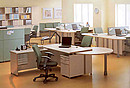 Topline series is a classical office furniture. Cutting-edge technology, flawless construction and suitable solutions to storage and design were combined to create a safe and vast working space....