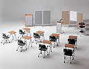 Dynamics and functionality of this series is achieved through ergonomic design of the tables and availability of wheels, which allows easy movement of the furniture. VCM is an ideal solution for...