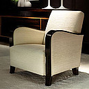 Armchair in Ebony Makassar.
