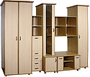 Set of case furniture Kivi Size: Length:3150 x Depth:608 x Height:2226