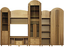 Set of case furniture Size: Length:3000 x Depth:512 x Height:2180