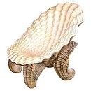 Authentic replica of sea shells that is perfect for themed bars and clubs or for by the pool. Strong and sturdy.